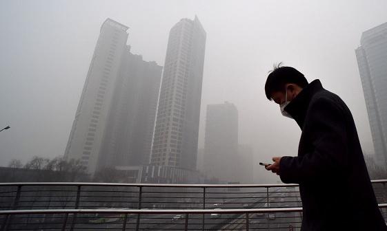 China smog 26 September