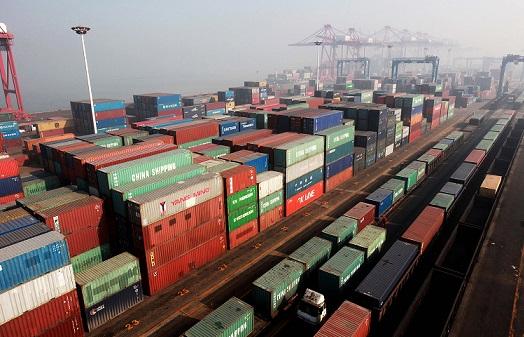 Lianyugang port in Jiangsu, China 27 September