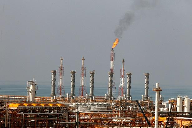 The South Pars gas field near the southern Iranian port of Assalouyeh, Iran. Source - Ahmad Halabisaz, REX, Shutterstock