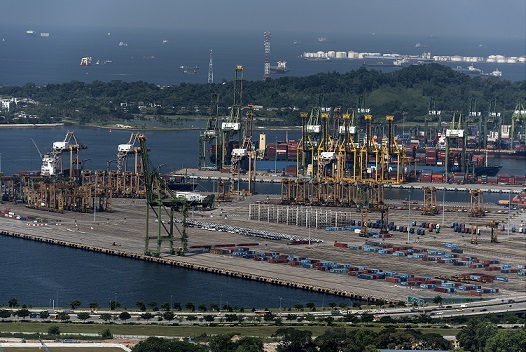 Singapore port 29 September