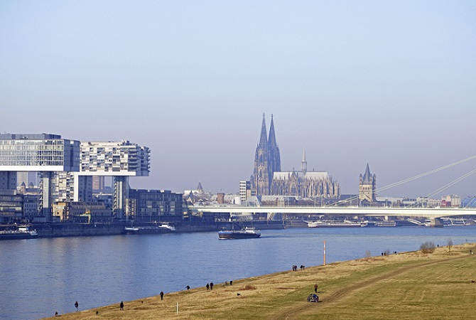River Rhine in Cologne - Source - WestEnd61, REX, Shutterstock