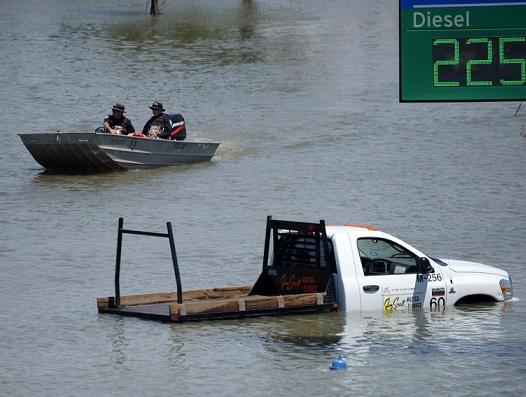 Rescuers in Port Arthur