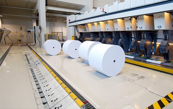Paper production in Finland