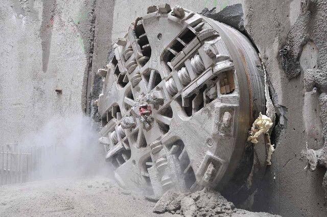 Strabag tunnelling equipment (Source: Sirius)