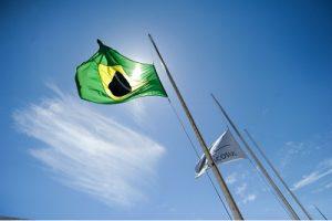 Brazil and Mercosur flags (source: Fernando Bizerra Jr/EPA/REX/Shutterstock)