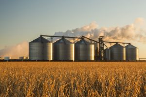 POET biorefinery in North Dakota (Photo credit: Design Pics Inc/REX/Shutterstock)
